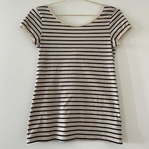 Intimissimi Beautiful Striped Reversible Top w Bow
